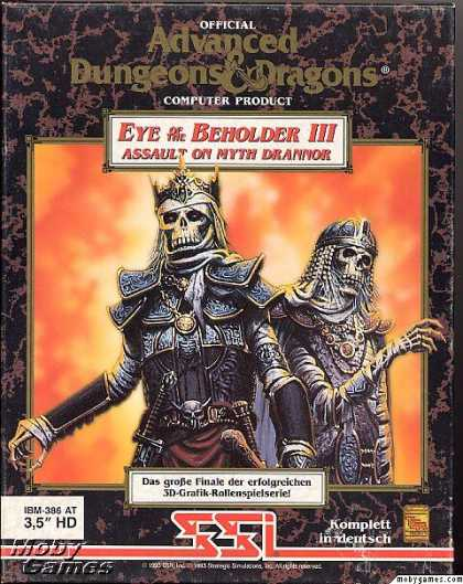 DOS Games - Eye of the Beholder III: Assault on Myth Drannor