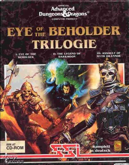 DOS Games - Eye of the Beholder Trilogy