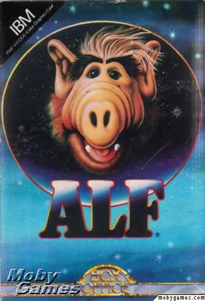 DOS Games - ALF: The First Adventure