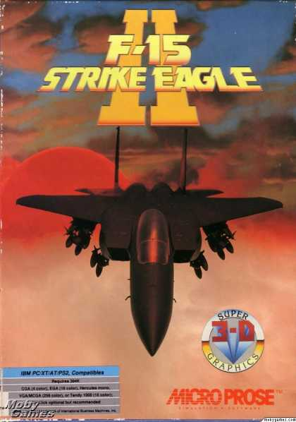 DOS Games - F-15 Strike Eagle II