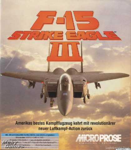 DOS Games - F-15 Strike Eagle III