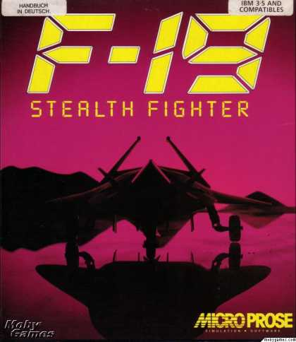 DOS Games - F-19 Stealth Fighter