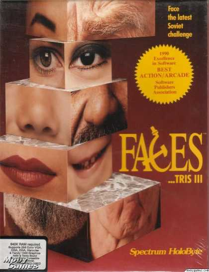 DOS Games - Faces