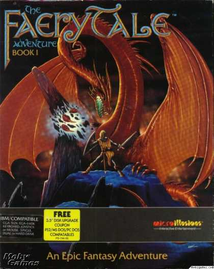 DOS Games - The Faery Tale Adventure: Book I