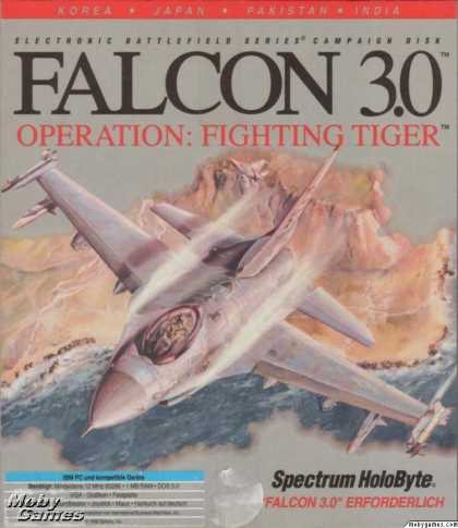 DOS Games - Falcon 3.0: Operation Fighting Tiger