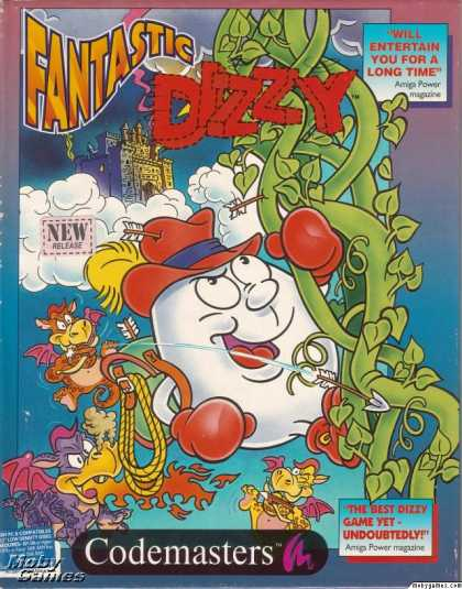 DOS Games - The Fantastic Adventures of Dizzy
