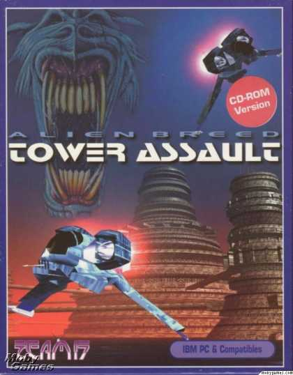 DOS Games - Alien Breed: Tower Assault