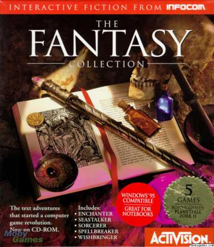 DOS Games - The Fantasy Collection