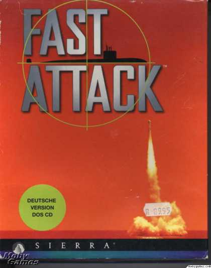 DOS Games - Fast Attack: High Tech Submarine Warfare