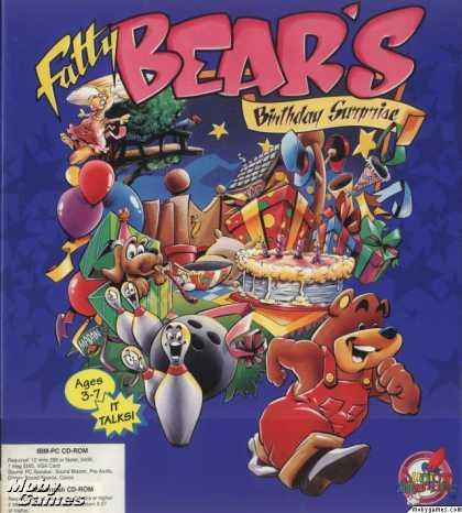 DOS Games - Fatty Bear's Birthday Surprise