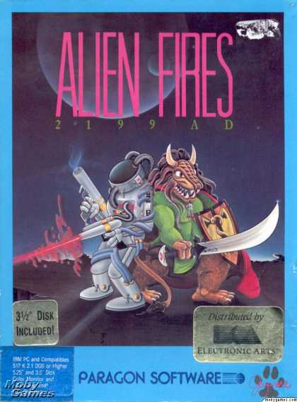 DOS Games - Alien Fires: 2199 AD