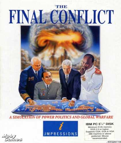 DOS Games - The Final Conflict