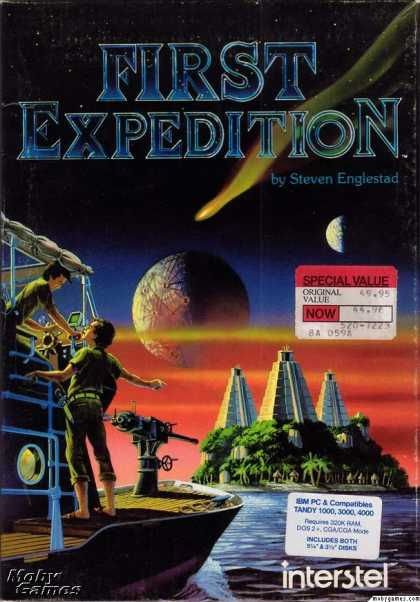 DOS Games - First Expedition