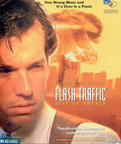 DOS Games - Flash Traffic: City of Angels