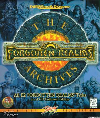 DOS Games - The Forgotten Realms Archives