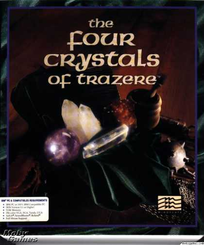 DOS Games - The Four Crystals of Trazere