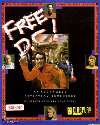 DOS Games - Free D.C!