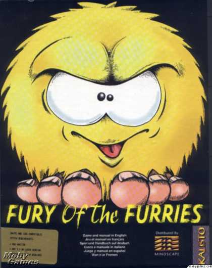 DOS Games - Fury of the Furries