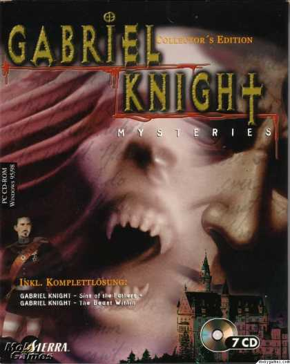 DOS Games - Gabriel Knight Mysteries: Limited Edition