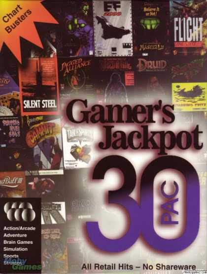 DOS Games - Gamer's Jackpot 30 PAC