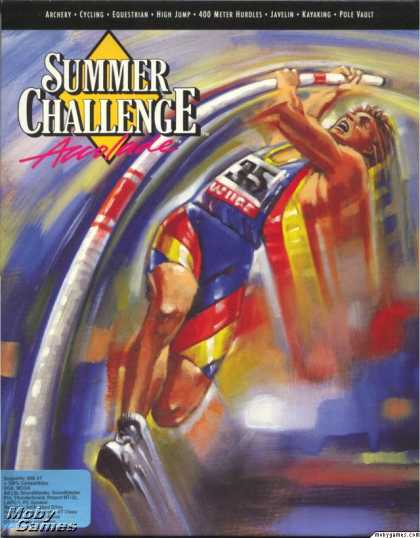 DOS Games - The Games: Summer Challenge