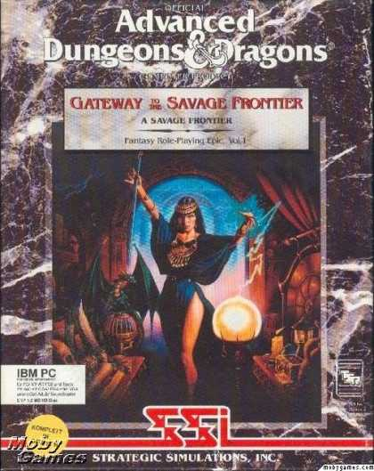 DOS Games - Gateway to the Savage Frontier