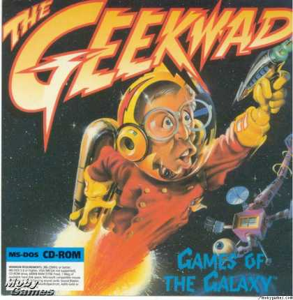 DOS Games - The Geekwad: Games of the Galaxy