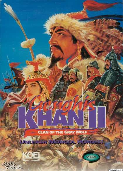 DOS Games - Genghis Khan II: Clan of the Grey Wolf