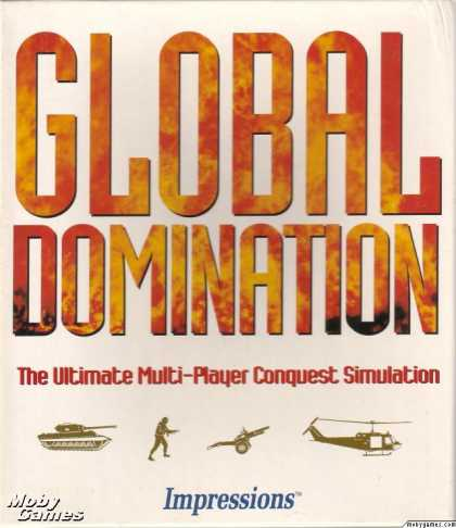 DOS Games - Global Domination