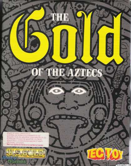 DOS Games - The Gold of the Aztecs