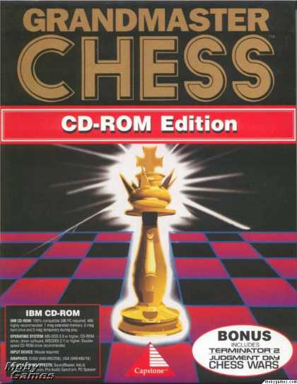 DOS Games - Grandmaster Chess (CD-ROM Edition)