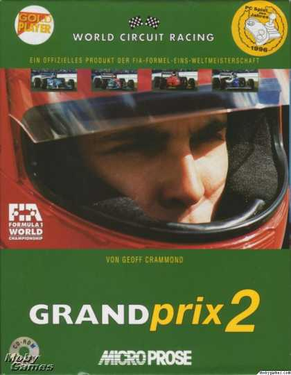 DOS Games - Grand Prix 2