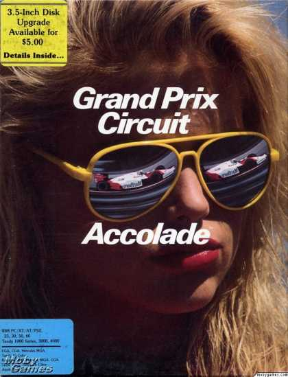 DOS Games - Grand Prix Circuit