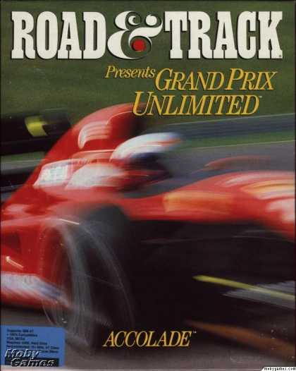 DOS Games - Grand Prix Unlimited