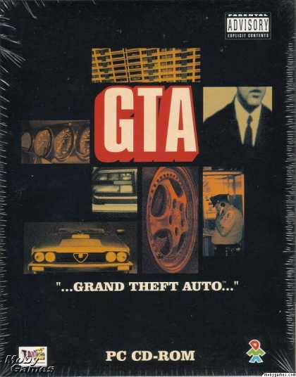 DOS Games - Grand Theft Auto