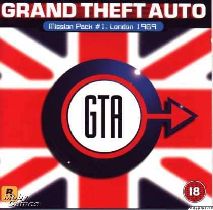 DOS Games - Grand Theft Auto: London 1969