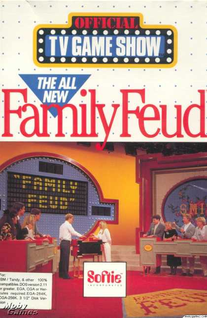 DOS Games - The All New Family Feud