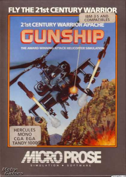 DOS Games - Gunship
