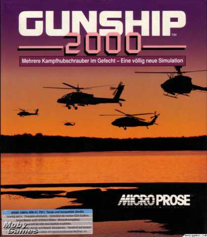 DOS Games - Gunship 2000