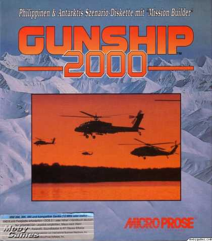 DOS Games - Gunship 2000 Scenario Disk and Mission Builder
