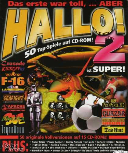 DOS Games - Hallo 2! 50 Spiele Hits