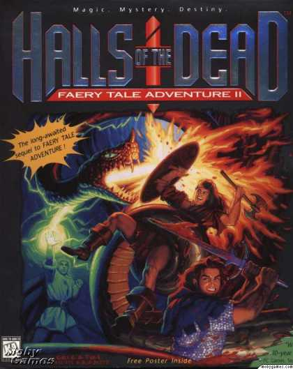DOS Games - Halls of the Dead: Faery Tale Adventure II