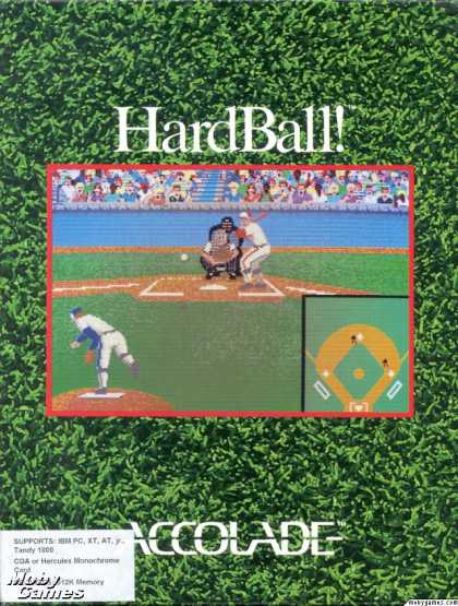 DOS Games - HardBall!