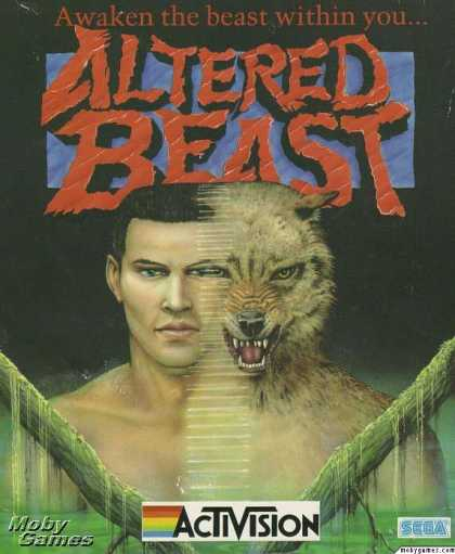DOS Games - Altered Beast