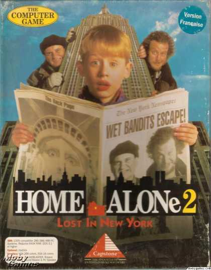 DOS Games - Home Alone 2: Lost in New York