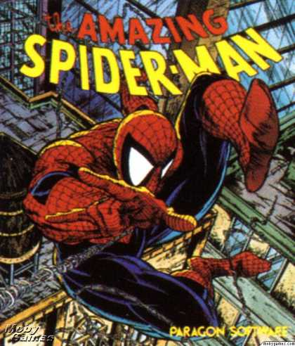 DOS Games - The Amazing Spider-Man