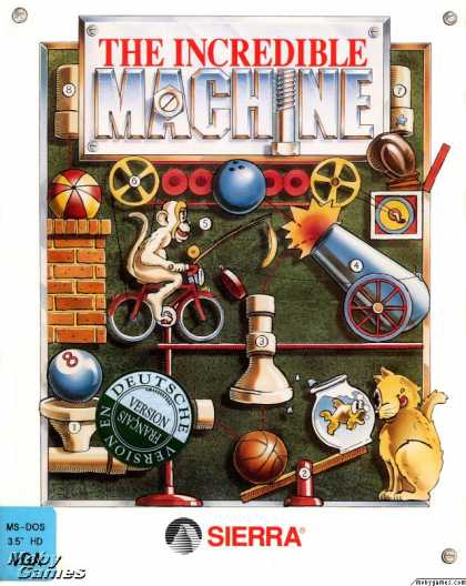 Dos games the incredible machine