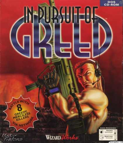 DOS Games - In Pursuit of Greed
