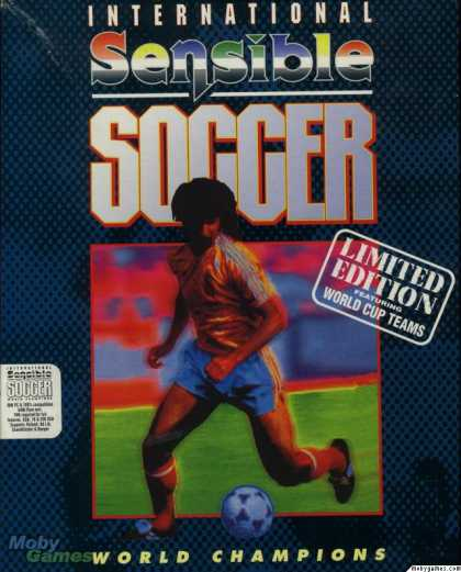 DOS Games - International Sensible Soccer