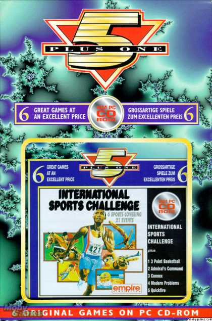DOS Games - International Sports Challenge